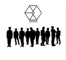 Exo Exodus Silhouette by furanzu