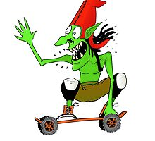 Dread goblin skater by Jamie Duff