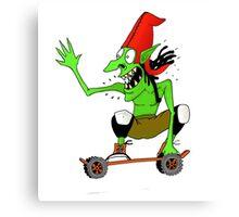 Dread goblin skater Canvas Print