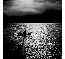Bantam Lake Evening Photographic Print