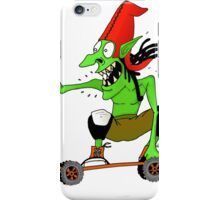 Dread goblin skater iPhone Case/Skin