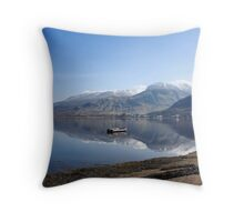 Ben Nevis from Camusnagaul. Throw Pillow