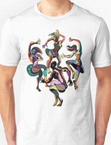 FOUR DANCERS Unisex T-Shirt