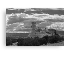 Hoodoo Island, near Chimayo, New Mexico Canvas Print