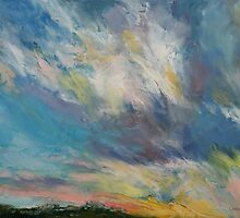 Clouds at Sunset by Michael Creese