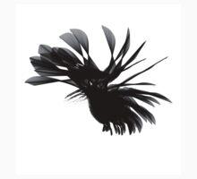Black Swirled Splotch Kids Clothes