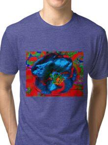 Volcanic Blossom Tri-blend T-Shirt