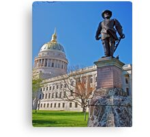 Spring at the Capital Canvas Print