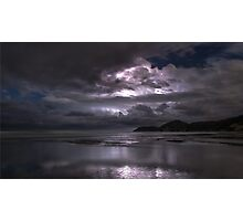 Storms approach Photographic Print