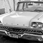 1959 Ford Fairlane-b&w by henuly1