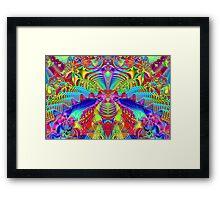 'Carnivale Vibes' Framed Print