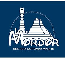 Disney Mordor Photographic Print
