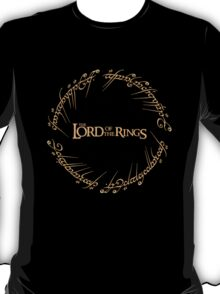 The Ring Script T-Shirt