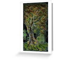 Tree Spirits Gone Wild Greeting Card