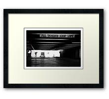 Tre Flip Framed Print