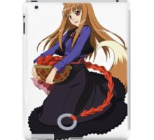 Holo - Spice and Wolf iPad Case/Skin