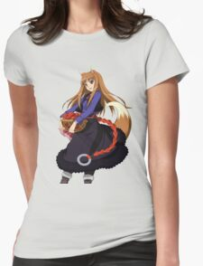 Holo - Spice and Wolf Womens Fitted T-Shirt