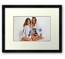 Go Raiders Framed Print