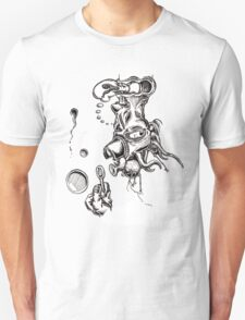 Some surreal bullshit with bubbles Unisex T-Shirt
