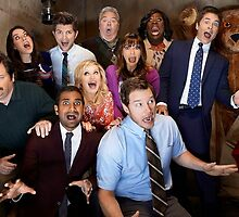 Parks and recreation cast by maddypit