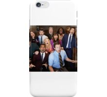 Parks and recreation cast iPhone Case/Skin