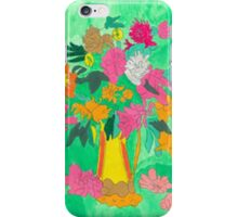 Still Life Bold, Bright Green iPhone Case/Skin