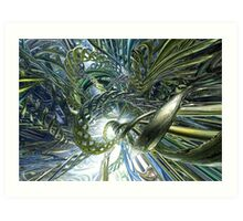 Coiled Lectricity Art Print
