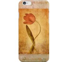 The Tulip iPhone Case/Skin