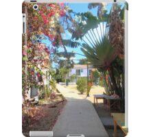 Shadowy boardwalk iPad Case/Skin