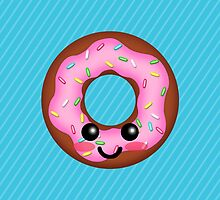 Funky Fresh Donut! by GrumpyBoobsArt