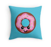 Funky Fresh Donut! Throw Pillow