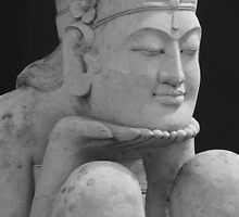 Smiling Meditation by Marguerite Foxon