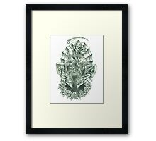 The Reaper Framed Print
