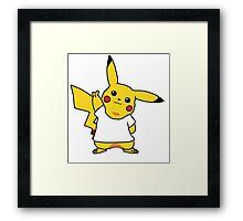 Dress Pikachu! Framed Print