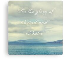 For the Glory of Wind and Water Metal Print