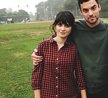 New Girl Nick, Nick and Jess by maddypit