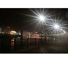Night on the Tyne Photographic Print