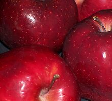 Red Apples by grannyjune