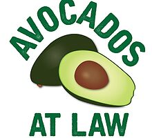 Avocados at Law by indiecupcake