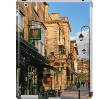 Late Afternoon in Montpellier Parade, Harrogate iPad Case/Skin