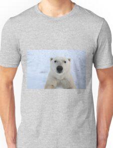 Close Encounter - Polar Bear Portrait Unisex T-Shirt
