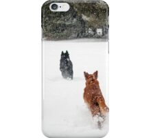 Playing Chase iPhone Case/Skin