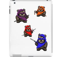 TEENAGE MUTANT NINJA EWOKS iPad Case/Skin