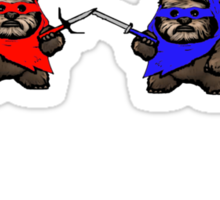TEENAGE MUTANT NINJA EWOKS Sticker
