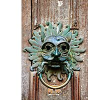 The Sanctuary Knocker, Durham Cathedral Photographic Print