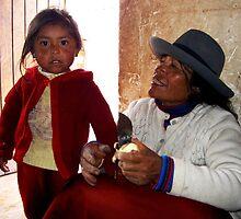 love in Peruvian orphanage by Robert C Richmond