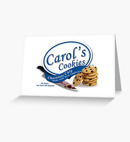 Carol's Cookies Greeting Card