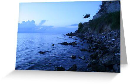 Tsilivi beach, Zante by david marshall