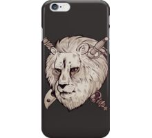 King & Lionheart iPhone Case/Skin
