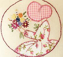 Sunny Sunday Bouqet Of Flowers  Bonnet Lady by Urbanfringe